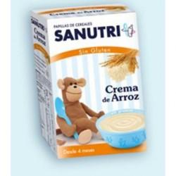 SANUTRI CREMA DE ARROZ SIN GLUTEN 300gr