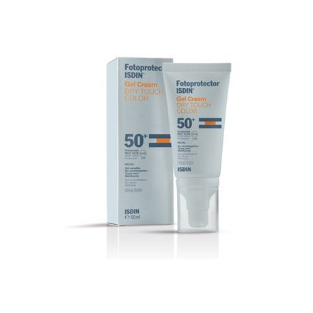 ISDIN FOTOPROTECTOR SPF50+ GEL CREMA DRY TOUCH COLOR 50 ML