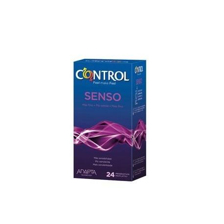 CONTROL PRESERVATIVO SENSO 24ud + 4 FINISSIMO GRATIS