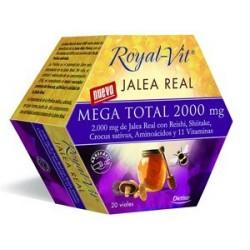 DIETISA ROYAL-VIT JALEA REAL MEGA TOTAL 2000 mg - 20 VIALES