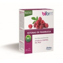 DIETISA BIFORM KETONAS FRAMBUESA 60 CAPS