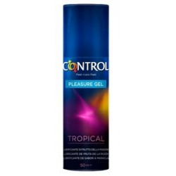 CONTROL PLEASURE GEL TROPICAL 50ML