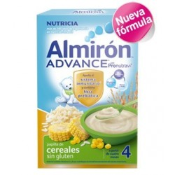ALMIRON ADVANCE CEREALES SIN GLUTEN 600GR