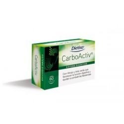 DIETISA CARBOACTIV CARBON VEGETAL 60 CAPSULAS
