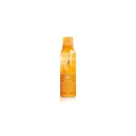 VICHY CAPITAL SOLEIL BRUMA HIDRATANTE INVISIBLE SPF30 200ML (Regalo Aftersun 100ml)
