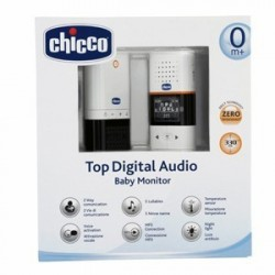 CHICCO BABY MONITOR AUDIO DIGITAL TOP NEW