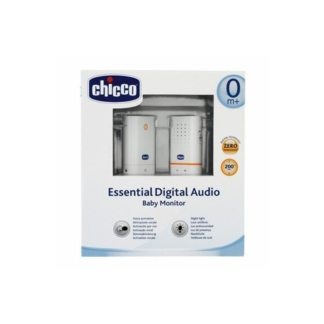 CHICCO BABY MONITOR AUDIO DIGITAL ESSENTIAL NEW