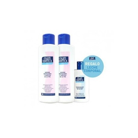 MULTIDERMOL DUPLO GEL 750ML + LECHE HIDRATANTE 250ML