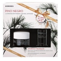 KORRES PINO NEGRO SET CREMA DIA PIEL NORMAL MIXTA + SERUM