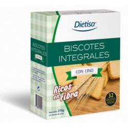 DIETISA BISCOTES INTEGRALES LINO 32 UD