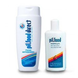 PILFOOD CHAMPU ANTISEBORREA 200ML+CHAMPU PH6