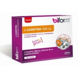 DIETISA BIFORM L-CARNITINA LIQUID 1000MG 14 VIAL - PRECIO ESPECIAL