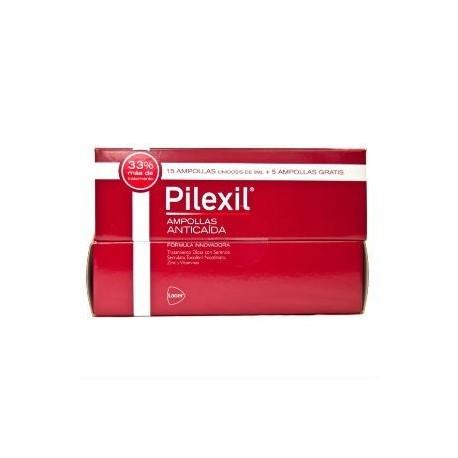 PILEXIL AMPOLLAS ANTICAIDA 15+5 de 5ml