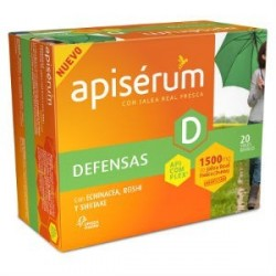 APISERUM DEFENSAS 1500MG 20 VIALES