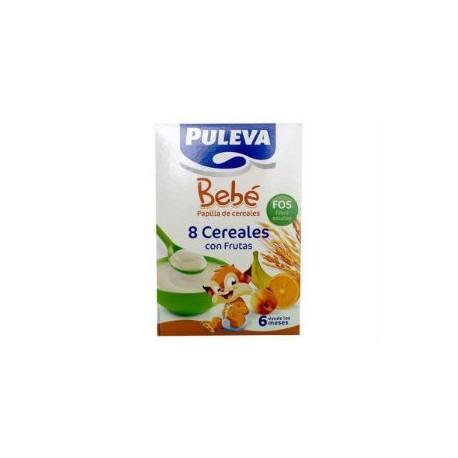 PULEVA BEBE 8 CEREALES CON FRUTAS BIFIDUS 500GR