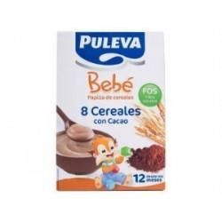 PULEVA BEBE 8 CEREALES CACAO BIFIDUS 500GR