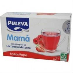 PULEVA MAMA INFUSION FRUTOS ROJOS 20 SOBRES