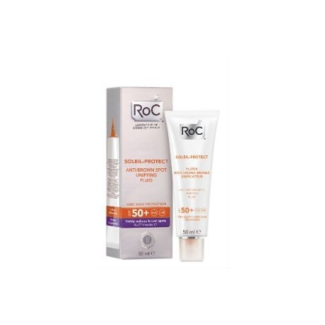 ROC SOLEIL-PROTECT FLUIDO ANTIMANCHAS SPF50+ 50ML