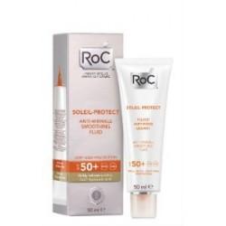 ROC SOLEIL-PROTECT FLUIDO ANTIARRUGAS SPF50+ 50ML