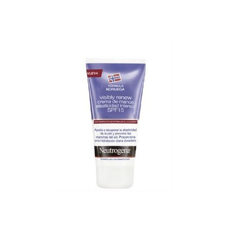NEUTROGENA VISIBLY RENEW CREMA DE MANOS ELASTICIDAD INTENSA SPF15 75ML