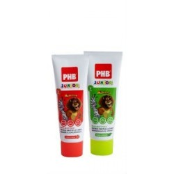 PHB JUNIOR PASTA DENTAL MENTA 75ML