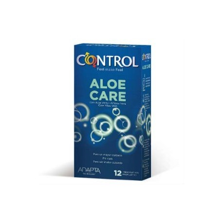 CONTROL PRESERVATIVO NATURE ALOE CARE 12 UNID