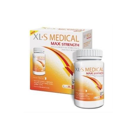 XLS MEDICAL MAX STRENGTH 120 COMPRIMIDOS (1 MES)