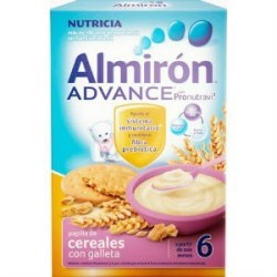 ALMIRON ADVANCE CEREALES CON GALLETA 500GR