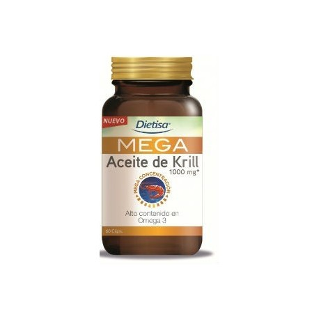 DIETISA MEGA ACEITE DE KRILL 60 CAPS.