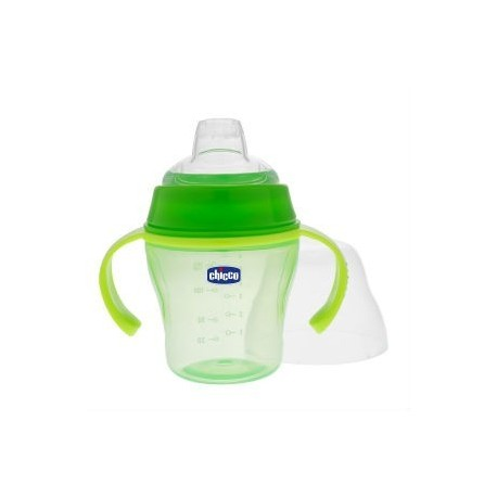 CHICCO VASO SUAVE 6M+ GREEN