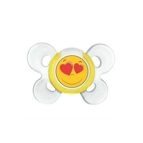 CHICCO CHUPETE COMFORT SMILE SILICONA 0M+
