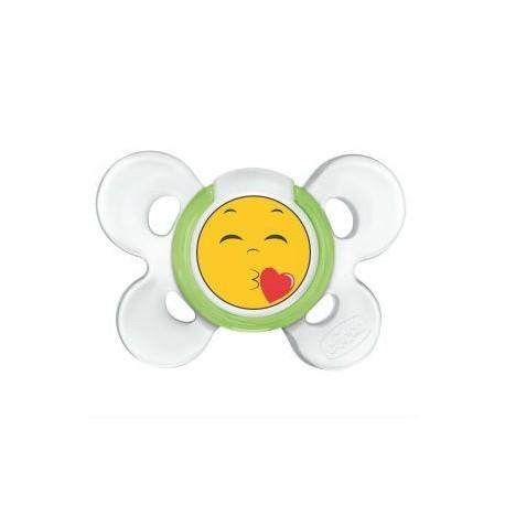 CHICCO CHUPETE COMFORT SMILE SILICONA 4M+