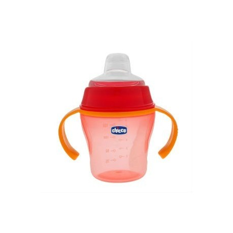 CHICCO VASO SUAVE 6M+ RED