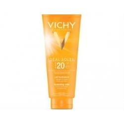 VICHY CAPITAL SOLEIL LECHE FAMILIAR SPF 20 300ML + AFTER SUN 100 ML REGALO