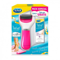 DR SCHOLL LIMA ELECTRONICA VELVET SMOOTH ROSA + Serum