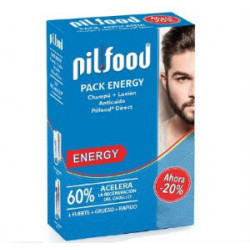 PILFOOD ENERGY-LOCION 125ML+CHAMPU ANTICAIDA 200ML