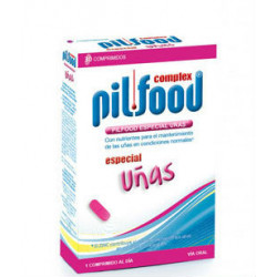 PILFOOD COMPLEX UÑAS 30 tabletas
