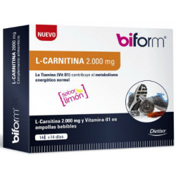 DIETISA BIFORM L-CARNITINA 2000mg 14 viales
