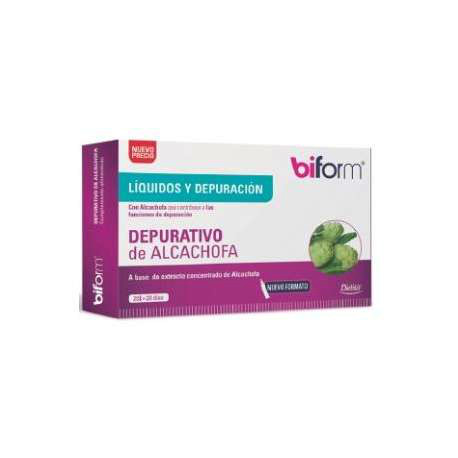 DIETISA BIFORM DEPURATIVO DE ALCACHOFA 20 viales