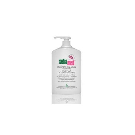 SEBAMED EMULSION SIN JABÓN 1000 ML.