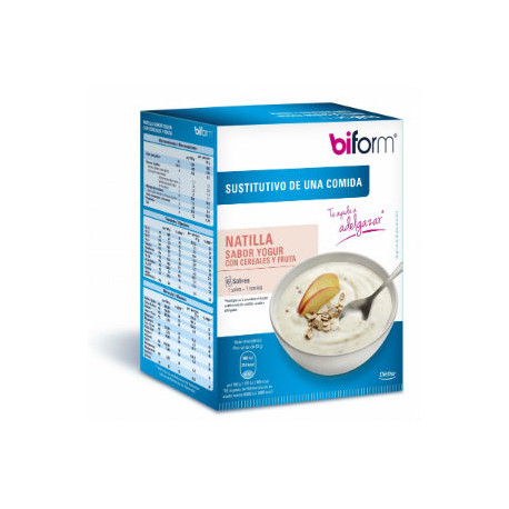 DIETISA BIFORM NATILLAS YOGUR-CEREALES 6 SOBRES x 52gr