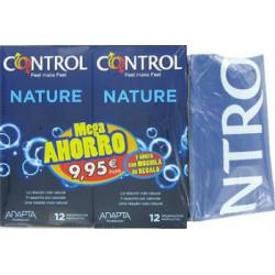 CONTROL NATURE 2x12ud-MEGA AHORRO-MOCHIL