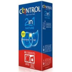 CONTROL 2en1 NATURE+LUBRIC. 6ud