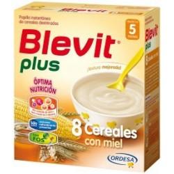 BLEVIT PLUS BIFIDUS 8 CEREALES CON MIEL 600 GR