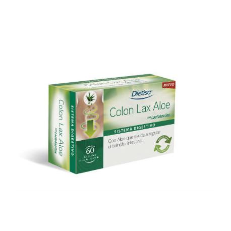 DIETISA COLON CLEANSE ALOE 60 CAPS.