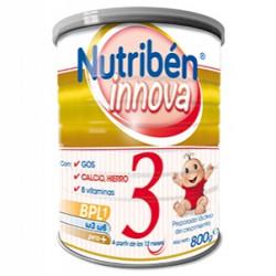 NUTRIBEN LECHE INNOVA 3 800GR