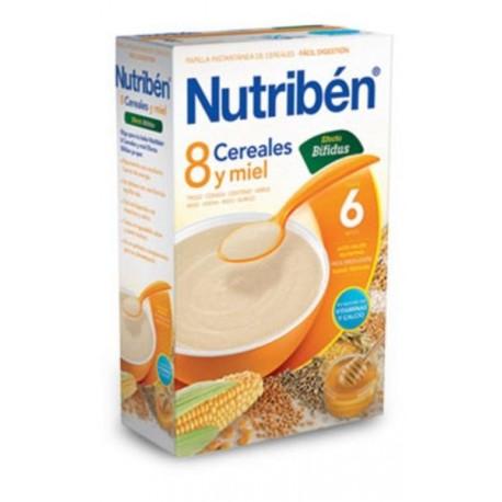 NUTRIBEN 8 CEREALES Y MIEL DIGEST 600 GR