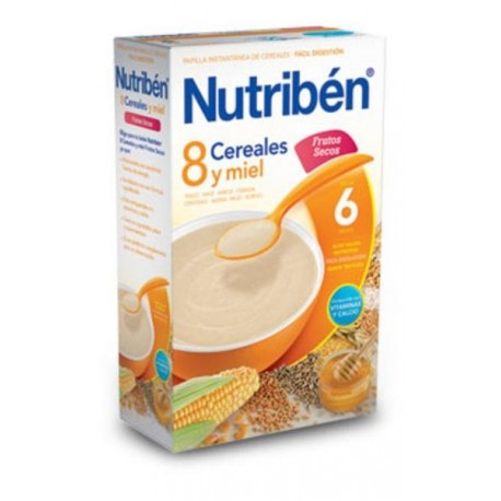NUTRIBEN 8 CEREALES Y MIEL FRUTOS SECOS 600 GR
