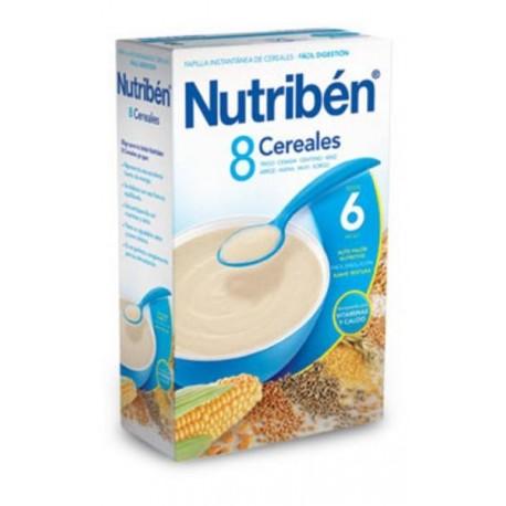 NUTRIBEN 8 CEREALES 600 GR.