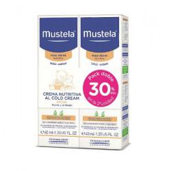 MUSTELA CREMA FACIAL NUTRITIVA AL COLD CREAM 2x40ml - DUPLO -30% DTO